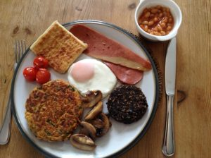Full Scottish VEGETARIAN Breakfast at Dupplin152